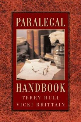 The Paralegal Handbook by Terry Hull image