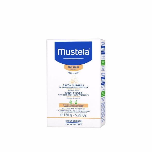Mustela: Gentle Soap (150g)