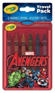 Crayola: On The Go Travel Pack - Avengers