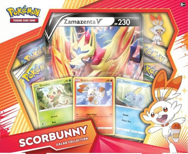 Pokemon TCG: Scorbunny Zamazenta V