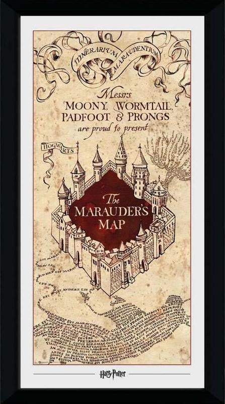 Harry Potter: Marauder's Map - Collector Print (41x30.5cm)