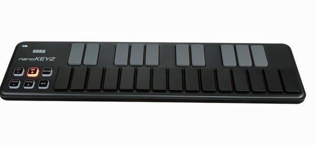 Korg NanoKEY2 Slimline USB Keyboard Controller (Black)