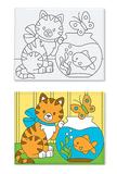 Melissa & Doug: Canvas Creations Kitten & Fishbowl