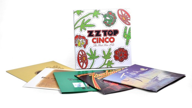 Cinco: The First 5 LP's (5LP) by ZZ Top