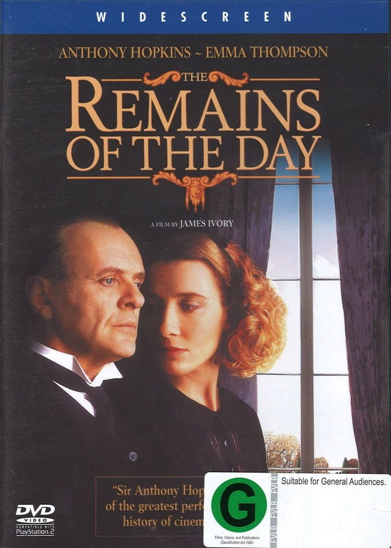 Remains Of The Day on DVD