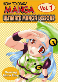 How to Draw Manga: Ultimate Manga Lessons - Drawing Made Easy: v. 1 by Go Office image