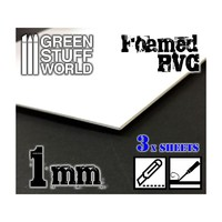 Green Stuff World Foamed PVC 1 mm