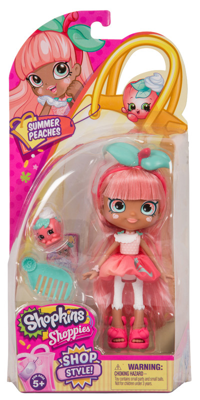 Shopkins: Series 7 - Shoppies Doll (Summer Peaches)