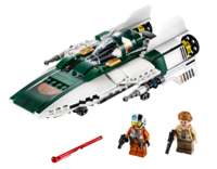 LEGO Star Wars - Resistance A-Wing Starfighter (75248) image