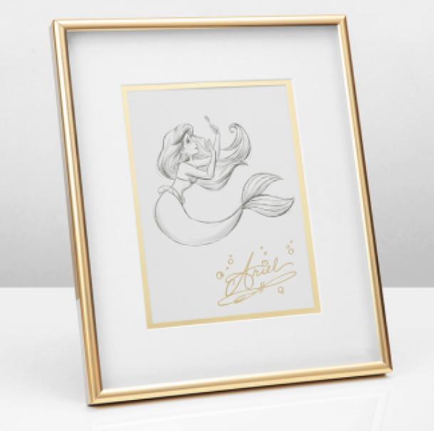 Disney Collectible Framed Print: Ariel