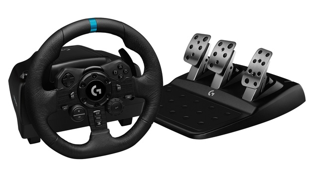 Logitech G923 Trueforce Racing Wheel (PlayStation & PC) for PS4