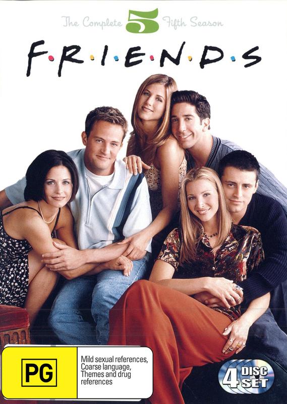 Friends - Season 5 on DVD