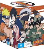 Naruto Uncut - Mega-Box 1 DVD