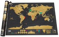 Scratch Off World Map - Deluxe Edition (Luckies of London)