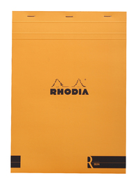 R by Rhodia with Cream Paper Orange A4 - Lined