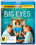 Big Eyes on Blu-ray