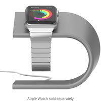Nomad Stand For Apple Watch - Silver