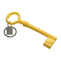 Areaware Key Keychain - Yellow