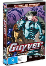 Guyver - The Bioboosted Armor: Vol. 5 - The Secret Of Relic's Point on DVD