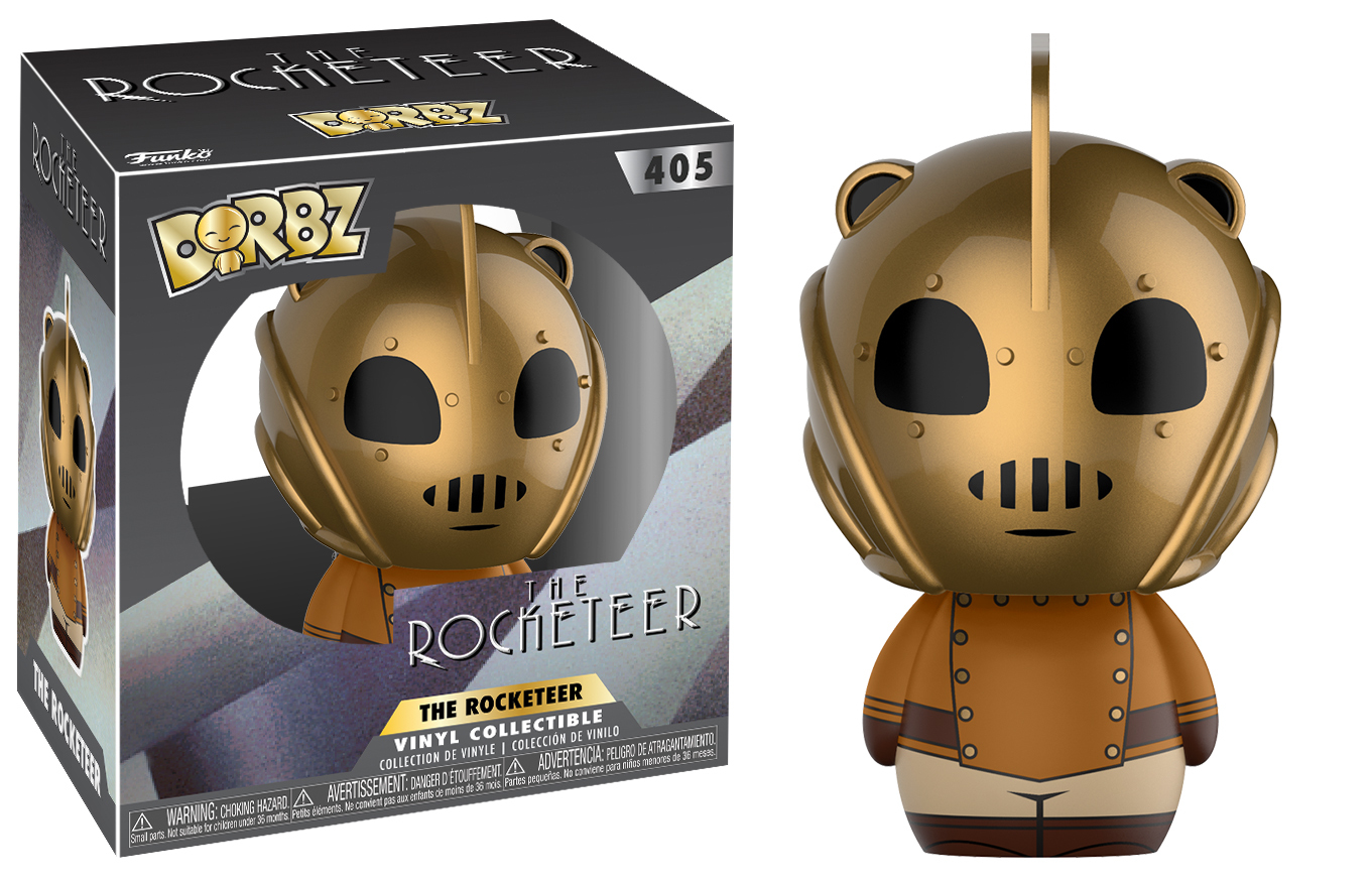 Rocketeer - Dorbz Vinyl Figure (with a chance for a Chase version!) image