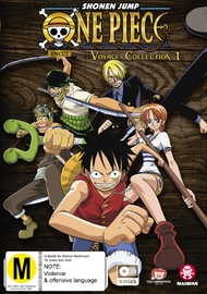 One Piece: Voyage - Collection 1 (episodes 1-53) on DVD image
