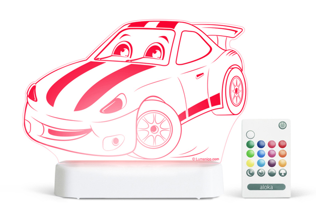 Aloka: Night Light - Race Car
