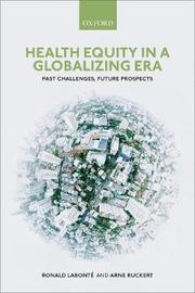 Health Equity in a Globalizing Era by Ronald Labonte