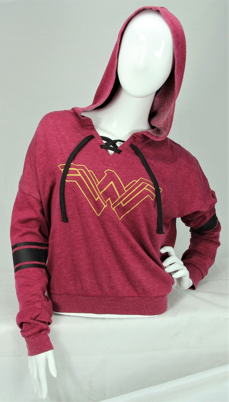 DC Comics: Wonder Woman - Lace-Up Hoodie (Small)