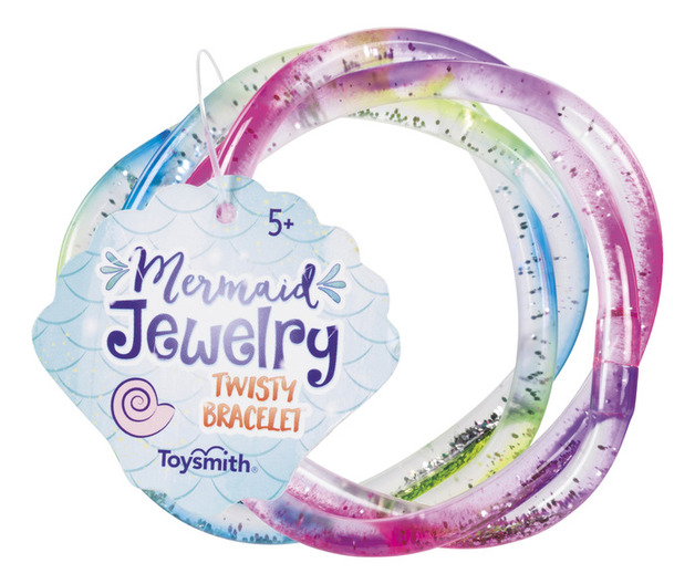 Toysmith - Mermaid Twisty Bracelets (Assorted Designs)