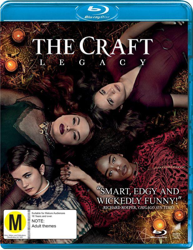 TheCraft:Legacy on Blu-ray