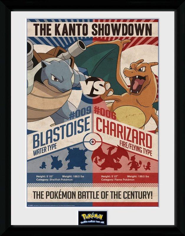 Pokemon: Red vs Blue - Collector Print (41x30.5cm)