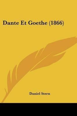 Dante Et Goethe (1866) by Daniel Stern