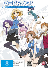 D-frag! Series Collection on DVD