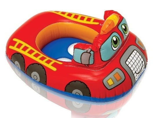 Intex: Kiddie Float - Lil Fire Engine
