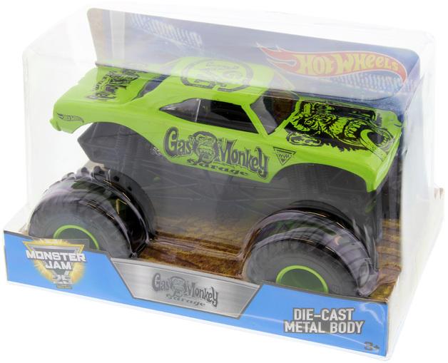 Hot Wheels Monster Jam: Gas Monkey Garage | Toy | at