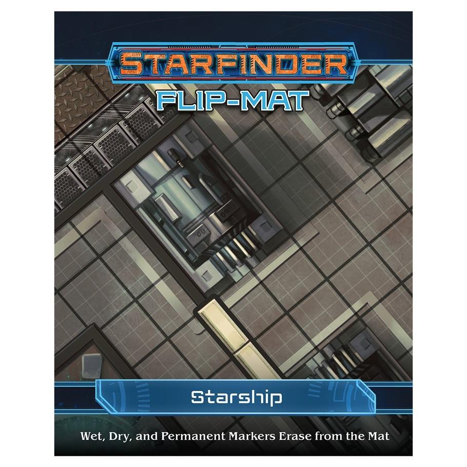 Starfinder RPG: Flip-Mat: Starship image