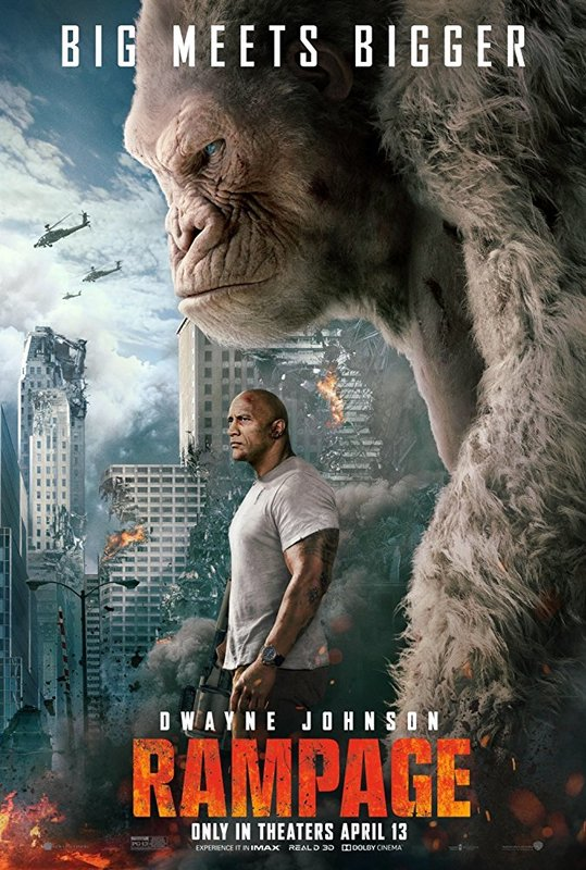 Rampage (4K UHD + Blu-ray) on UHD Blu-ray