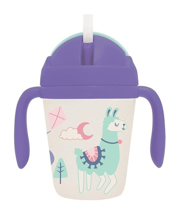 Penny Scallan: Bamboo Sippy Cup - Loopy Llama