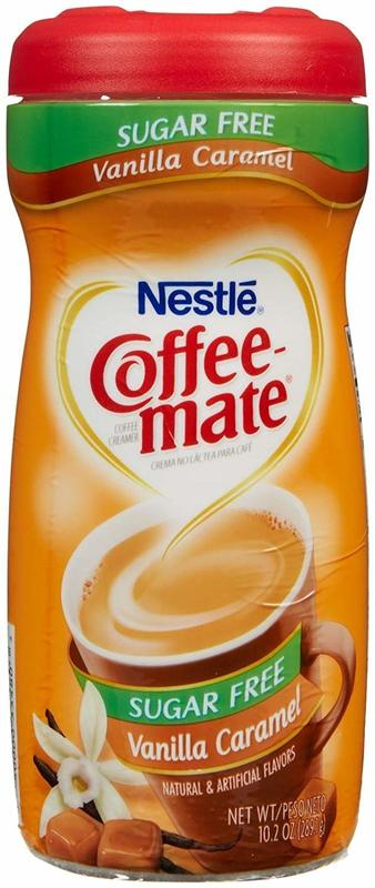 Nestle Coffee-Mate Sugar Free Vanilla Caramel Powder