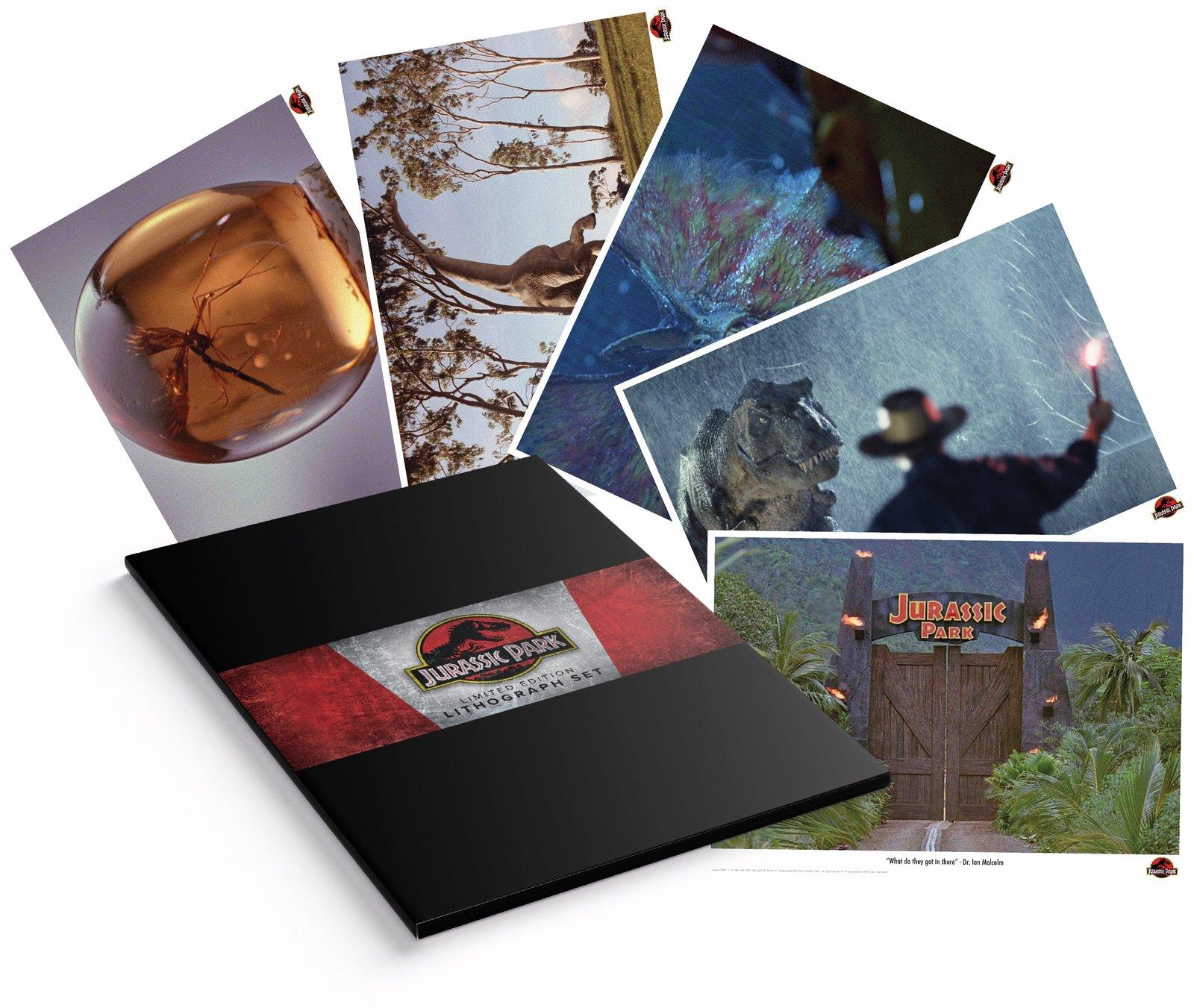 Jurassic Park - Lithograph Set image