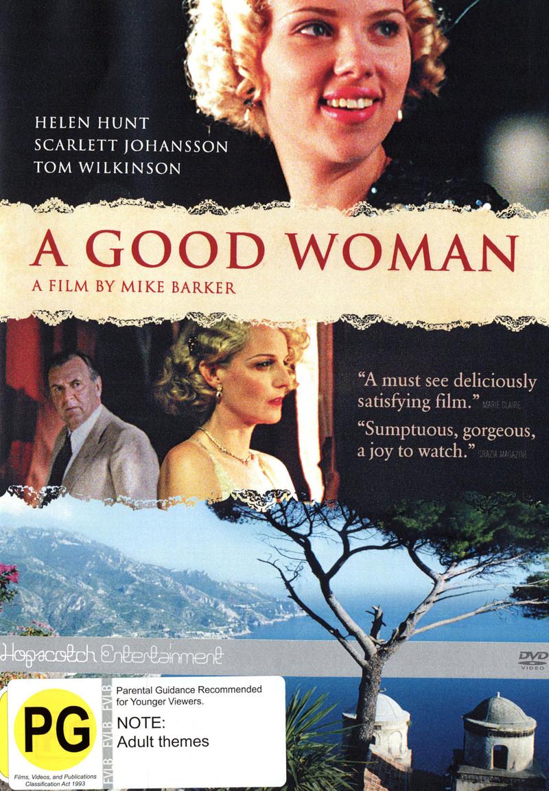 Good Woman, A on DVD image