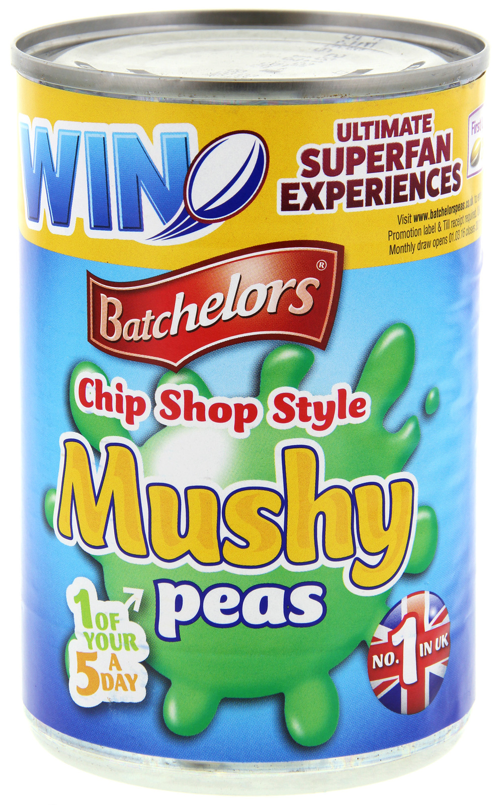 Batchelors Mushy Peas Chip Shop 300g image