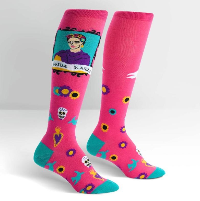 Women's - Frida Kahlo Knee High Socks image