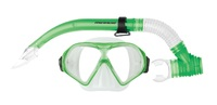 Mirage: S29 Tropic - Adult Mask & Snorkel Set (Green)