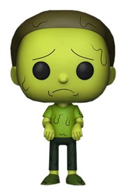 Rick & Morty – Toxic Morty Pop! Vinyl Figure image