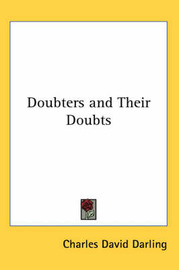 Doubters and Their Doubts by Charles David Darling image