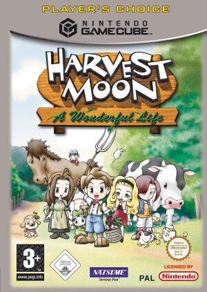 Harvest Moon: A Wonderful Life for GameCube image