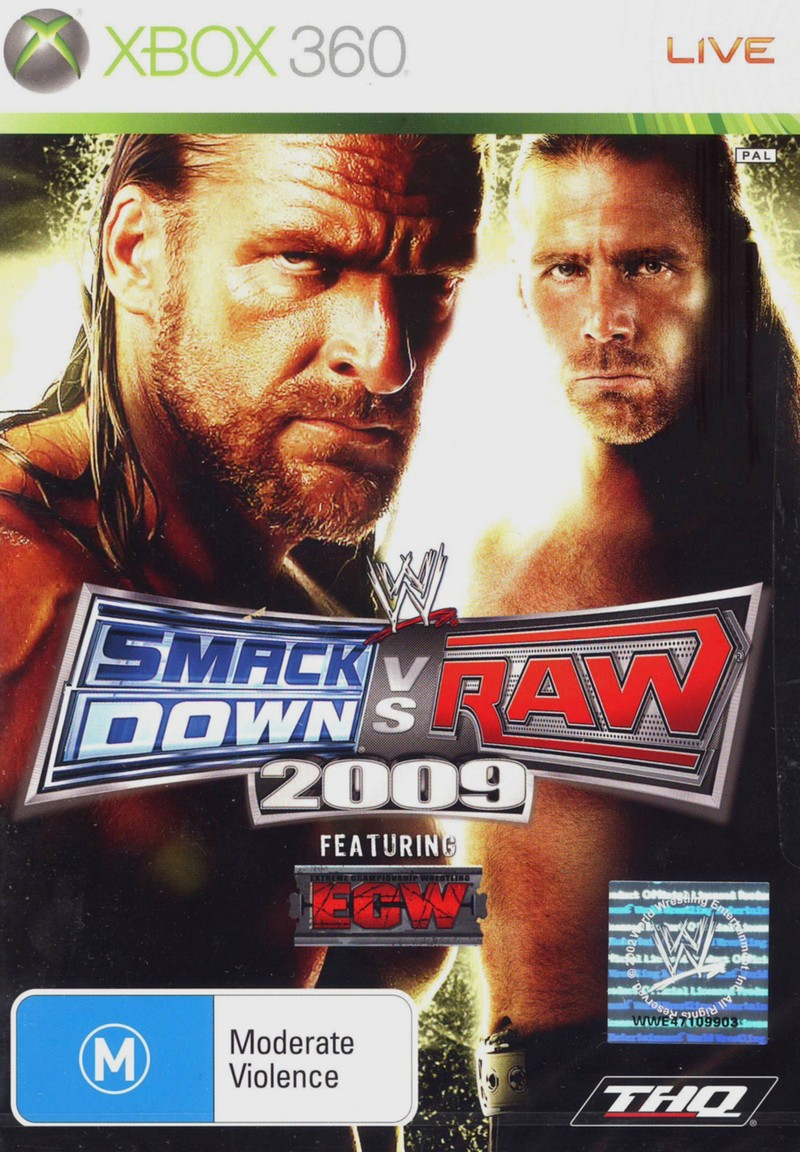 WWE SmackDown! vs. RAW 2009 (Classic) for X360 image