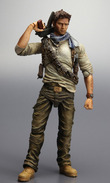 Uncharted 3 Play Arts Kai Action Figure - Nathan Drake images, Image 7 of 7