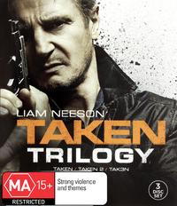 Taken 1-3 Triple Pack on DVD